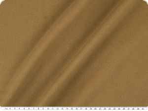 High-quality wool-fleece, color camel, width 150cm