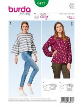 Burda pattern,  blouse, size: 32-44