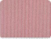 Cotton fabric, stripes, coloured woven, pink-white, 140cm