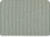 Cotton fabric, stripes, coloured woven, green-white, 140cm