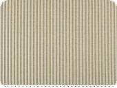 Cotton fabric, stripes, coloured woven, brown-white, 140cm