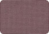 Cotton with small checks, ca. 4mm, bordeaux, 140cm