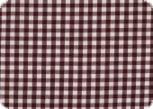 Cotton fabric with checks, ca. 1cm, bordeaux, 140cm
