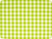 Cotton fabric, checked, may-green, 140cm