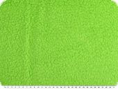 Curly teddy fabric, apple green, 145cm