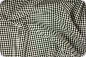 Cotton fabric with small squares, black-white, 145cm