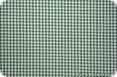 Cotton fabric with small squares, 3mm, green-white, 145cm