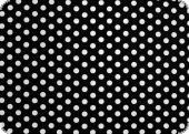Cotton fabric with dots, black, ca. 135cm