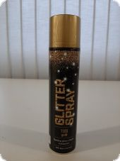Glitter spray, gold, 400ml