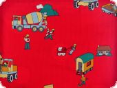 Nice cotton print, vehicles, 140cm