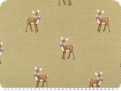 Cotton-Jersey, children fabric, fawns, beige, 150cm