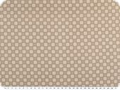 Cotton fabric, christmas fabric, taupe, 140cm