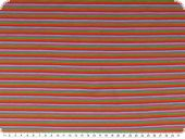 Cotton jersey, stripes, multicolour, 150cm