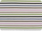 Viscose jersey,  stripes, white-multicolour, 150cm