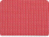Viscose mousseline, small triangles, red, 150cm