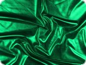 Glitter jersey, stretch foil, green, 145cm
