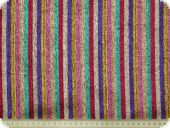 Coloured stripes-fabric, lamé, gloss effect, multicolour, 13