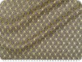 Knitted fabric with glitter & lurex, gold-silver, width150cm