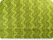Lace with lurex, yellow green, 145cm