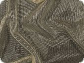 Knitted fabric with Lurex, pale gold, 150cm