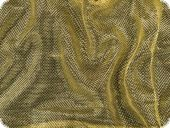 Knitted fabric with Lurex, yellow gold, 150cm