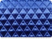 Fashionable quilt, plain, signal blue, ca. 140cm