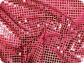 Sequins fabric, pink, 112cm