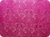 Jacquard paisley with lurex, pink, ca. 140cm