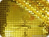 Sequined fabric, golden,  94cm