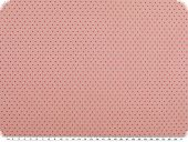 Nice cotton print, tiny dots, pink, 142-145cm