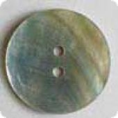 natural pearl, nacre button - Size: 28mm - Color: white