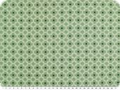 Mathilda's poplin fabric, ornament-stars, pale green, 145cm