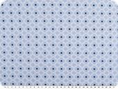 Mathilda's poplin fabric, ornament-stars, light blue, 145cm