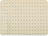 Mathilda's quality poplin, small flowers, beige, 142cm