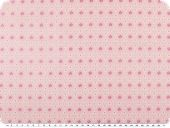 Mathilda's quality poplin, small flowers, rose pink, 142cm
