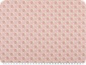Mathilda's quality poplin fabric, flowers, rose-pink, 142cm