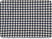 Table cloth fabric, small checks, blue-white, 140cm