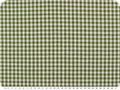 Table cloth fabric, small checks, green-white, 140cm