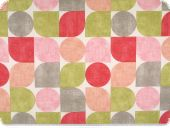 Deco fabric , geometric shapes, multicolour, 140cm