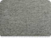 Durable upholstery fabric, chenille, grey, 140cm