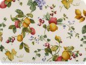 Nice decoration fabric, fruits, multicolour, 167cm