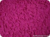 Quillings tubular fabric, magenta, ca. 80cm