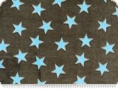 Leftover, Superfleece, stars, 100x150cm, with hole !!