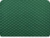Jersey cloque, stitched, plain, emerald, 150cm