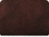 Lurex-jacquard fabric, reptile pattern, bordeaux, 142cm