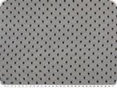 Dots-net fabric, soft touch, petrol, 145cm