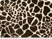Superfleece, animal print, ecru-brown, 150cm