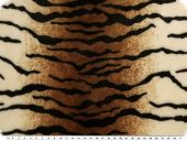 Superfleece, animal print, tiger, 150cm