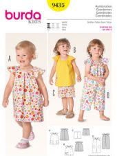 Burda Pattern, kids, Combinationl, Size: 68-98