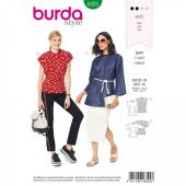 Burda pattern, Tunika shirt blouse, size: 32-42
